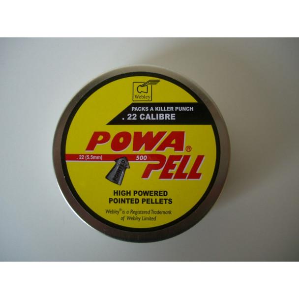 Best price for Webley Powerpell .22 Pellets, on sale at Bradford Stalker