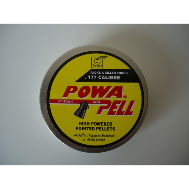 Best price for Webley Powerpell .177 Pellets, on sale at Bradford Stalker