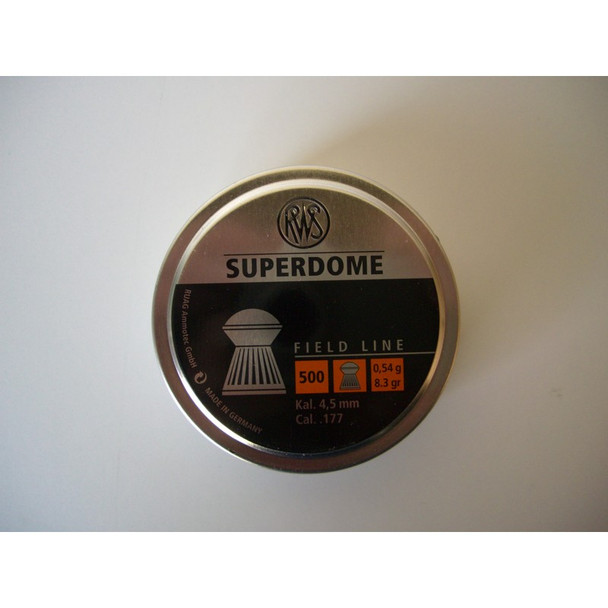 Best price for RWS Super Dome .177 Pellets, on sale at Bradford Stalker