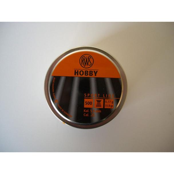 Best price for RWS Hobby .22 Pellets, on sale at Bradford Stalker