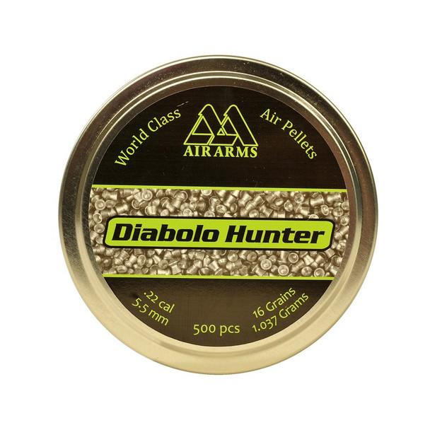 Best price for Air Arms Diablo Hunter .22 Pellets, on sale at Bradford Stalker