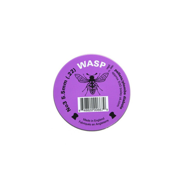 best price for Wasp .22 Pellets Purple Tin, on sale at Bradford Stalker