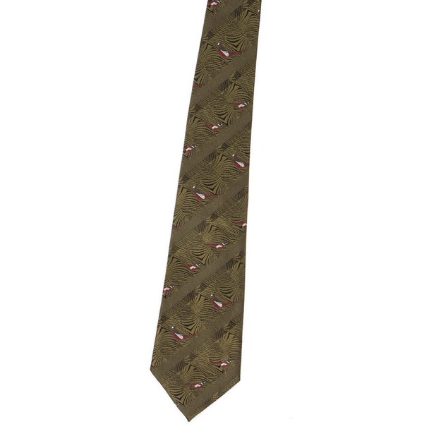 Best price for Polyester Pheasants Tie by Bisley, Available in green, Buy from Bradford Stalker at cheap rates