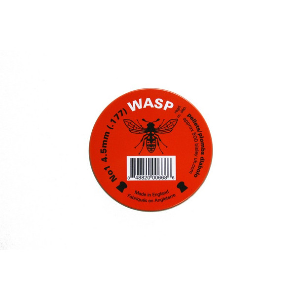 Wasp .177 Pellets Red Tin