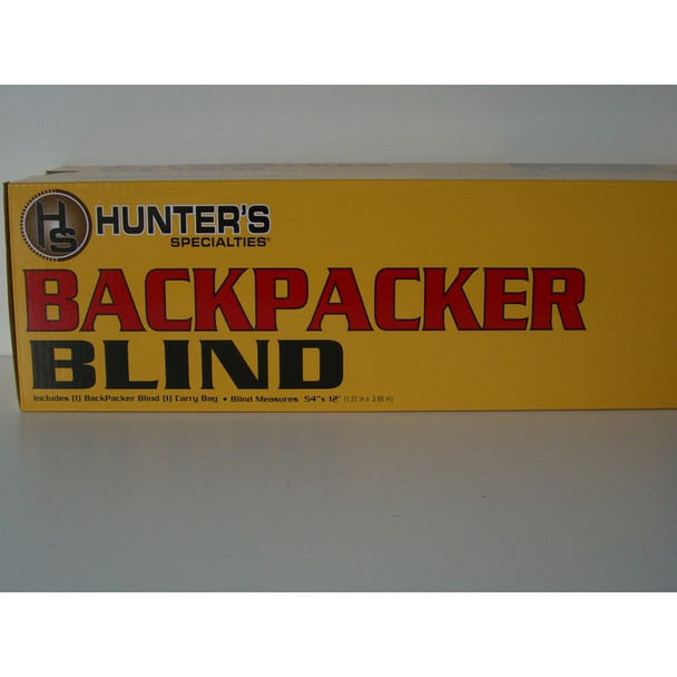 Back Packer Blind