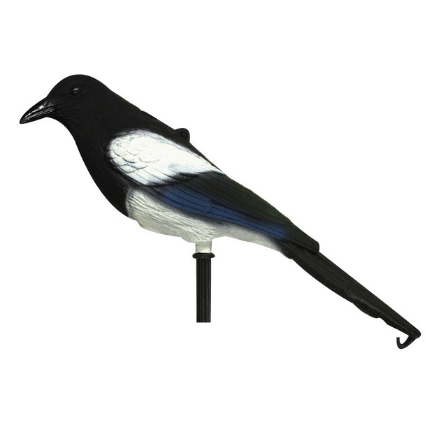 Magpie Decoy Flocked