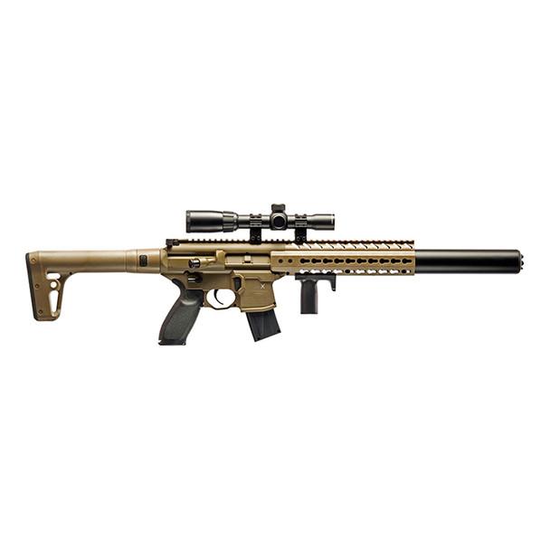 Sig Sauer MCX Air Rifle FDE .177 Pellet inc Scope