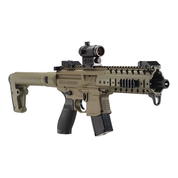 Sig Sauer MPX Air Rifle FDE .177 Pellet inc Red Dot
