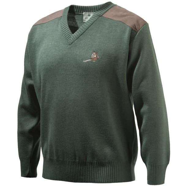 Beretta Pheasant V Neck Sweater