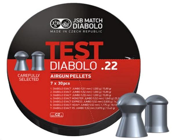 SB Diablo Test Pack .22