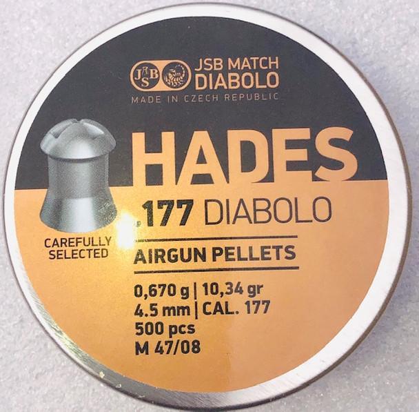 JSB Hades .177 pellets