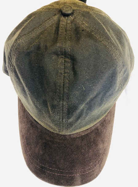Failsworth wax baseball cap olive