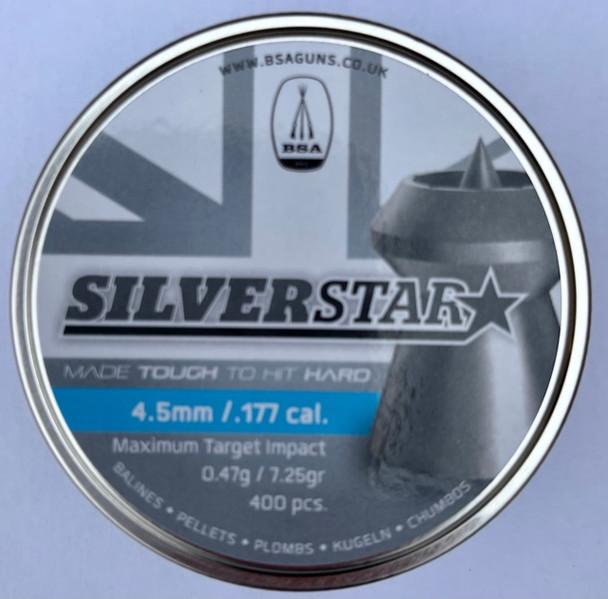 BSA Silverstar 4.5mm / .177 pellets