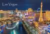 Las Vegas Strip Day Night - Magnet
