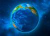 Earth Rotating - Postcard