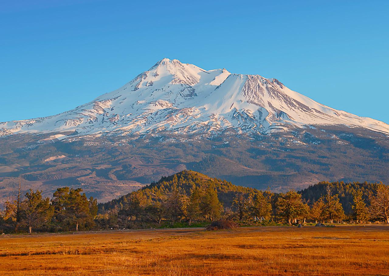 Mt Shasta Ca >> Mount Shasta Ca Postcard