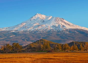 Mount Shasta, CA - Postcard