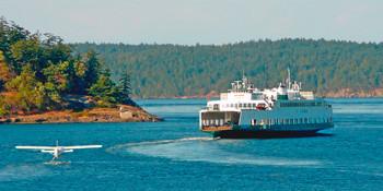 Washington State Ferry Long Card
