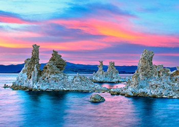 Mono Lake, CA Postcard