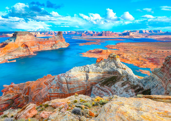 Lake Powell, UT-AZ - Postcard