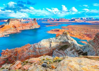 Lake Powell, UT-AZ Postcard