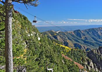 Sandia Peak Tramway, NM - Postcard