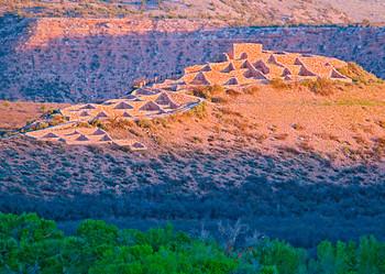 Tuzigoot National Monument - Postcard