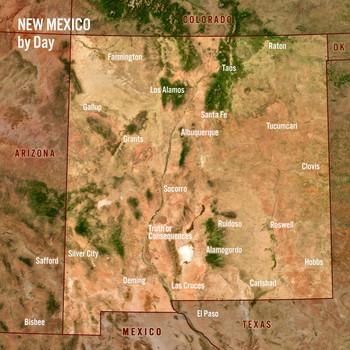 New Mexico Day Night Maxi Card