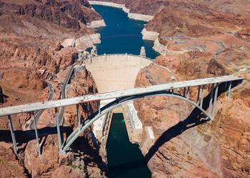 Hoover Dam - Postcard