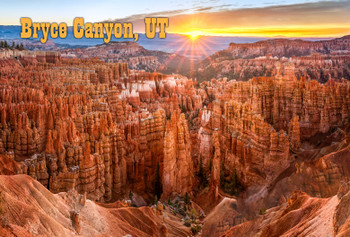 Bryce Nat Park, Bryce Canyon - Magnet