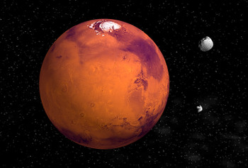 Mars - Magnet