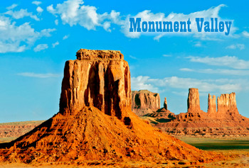 Monument Valley 1 - Magnet
