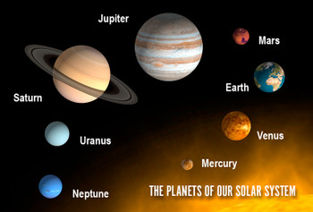Planets of Solar System Magnet
