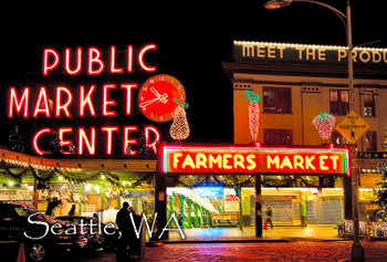Pike Place Market - Magnet