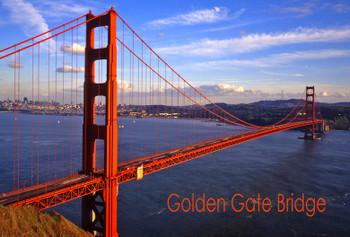 Golden Gate Bridge Day Night Magnet