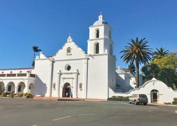 Mission San Luis Rey - Postcard