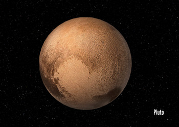 Pluto 2- Postcard