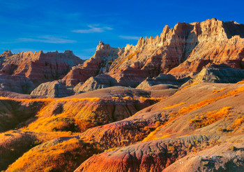 Badlands Nat Park, SD - Postcard