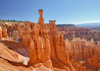 Bryce National Park, Thors Hammer Postcard