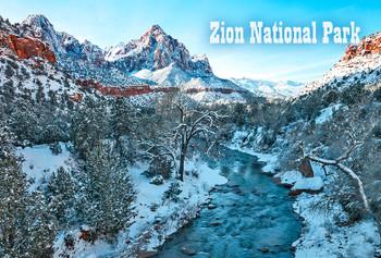 Zion Nat Park, Watchman - Magnet