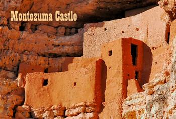 Montezuma Castle - Magnet