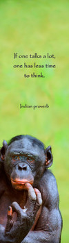 Chimp brooding Bookmark