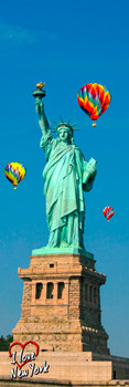 Statue of Liberty & Balloon Bookmark