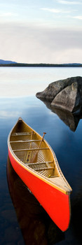Canoe and lake Bookmark