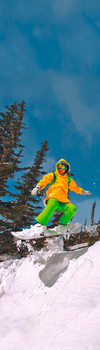 Snowboarder 2 Bookmark
