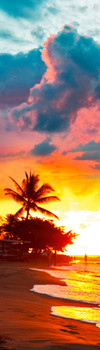 Tropical Sunset Bookmark