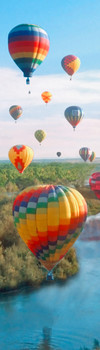 Balloon Festival Bookmark