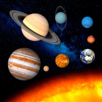 Solar System Maxi Card