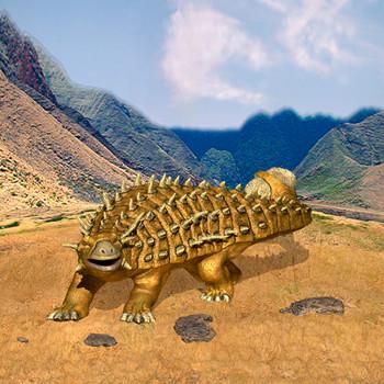Ankylosaurus Maxi Card