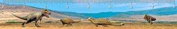 Ankylosaurus T-Rex Ruler(in)